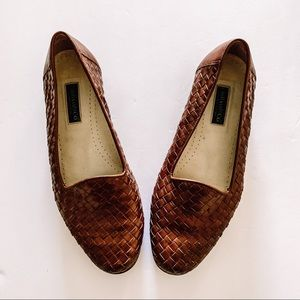 G.H.Bass Brown Woven Loafer
